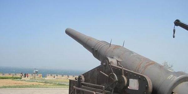 从大连到烟台东炮台海滨风景区旅游 4月大连到烟台东炮台