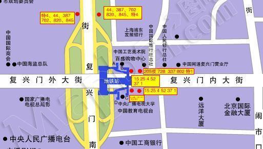 复兴门地铁站   a出入口建筑:中国工艺美术学院图片