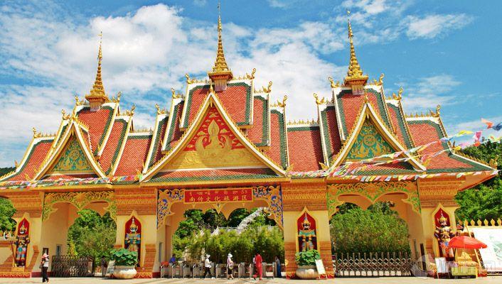 云南西双版纳傣族自治州旅游景点:西双版纳傣族园